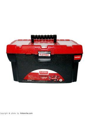 جعبه-ابزار-پلاستیکی-قرمز-آتروکس